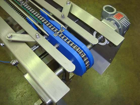 Indexing conveyor drive detail